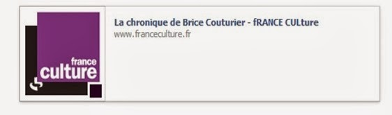 fRANCE CULture Brice Couturier