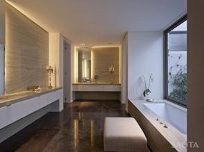Baño-minimalista-con-marmol