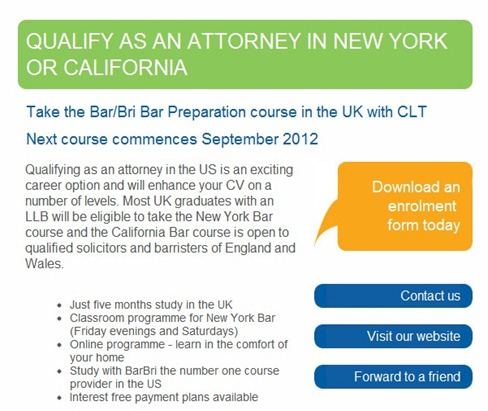 Qualify as an attorney in NY or Canada