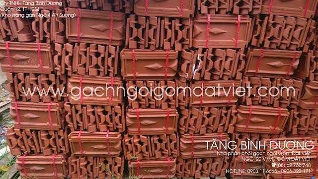 Ngói 22 v/m2 Gốm Đất Việt