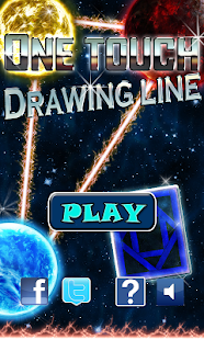 One Touch Drawing Line - screenshot