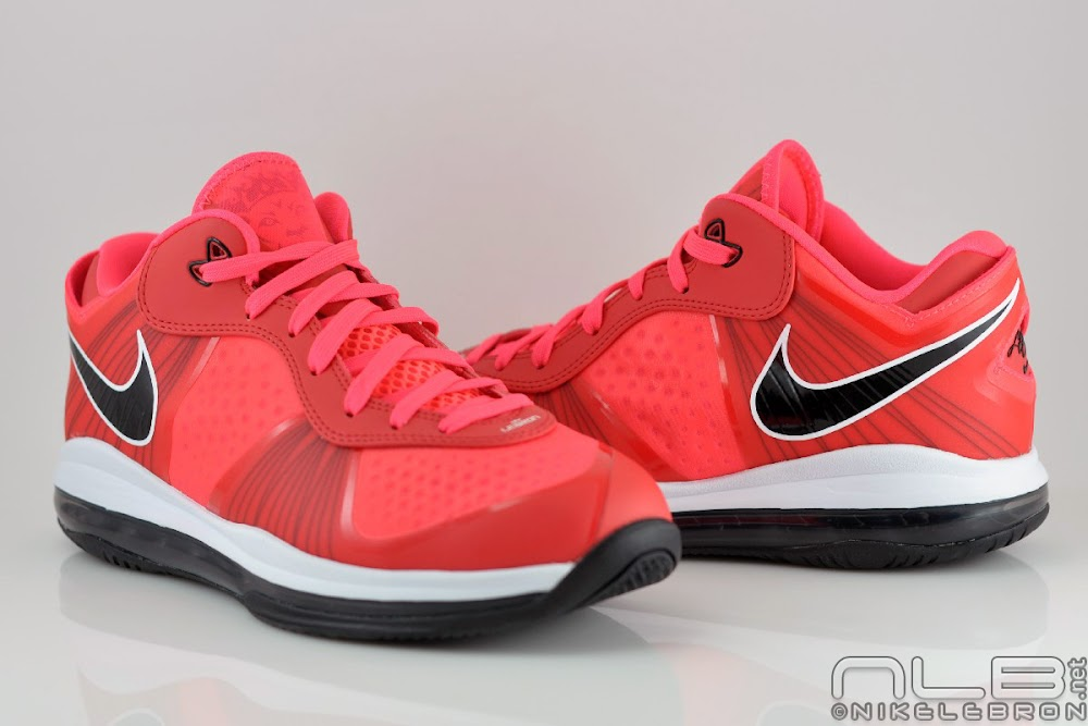 lebron 8 low red - photo #21