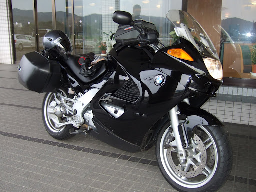 motorcycle (1200 BMW) and