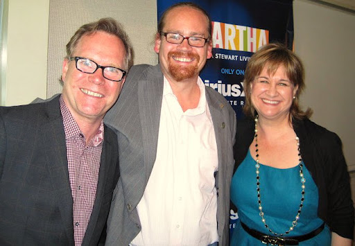 Andrew Dornenburg and Karen Page with their guest Chef Christopher Bates.