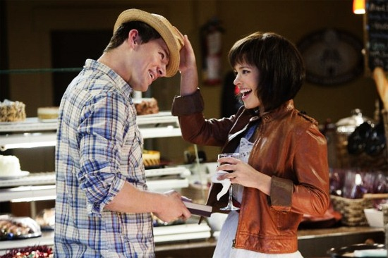 Leo (Channing) and Paige (Rachel) in The Vow