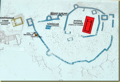 Assos Acropolis Plan