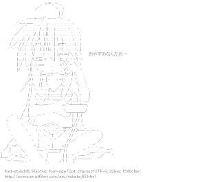 [AA]Izumi Konata (RakiSta)