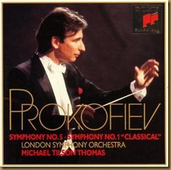 Prokofiev Sinfonía Clásica Tilson Thomas