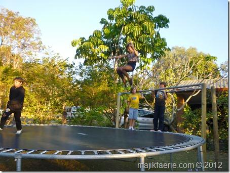 28 trampoline