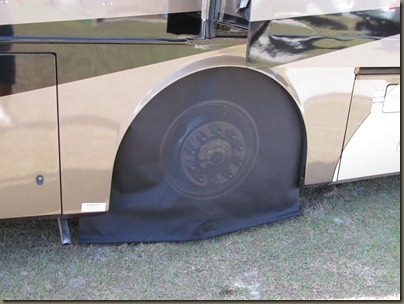 tire cover with pvc
