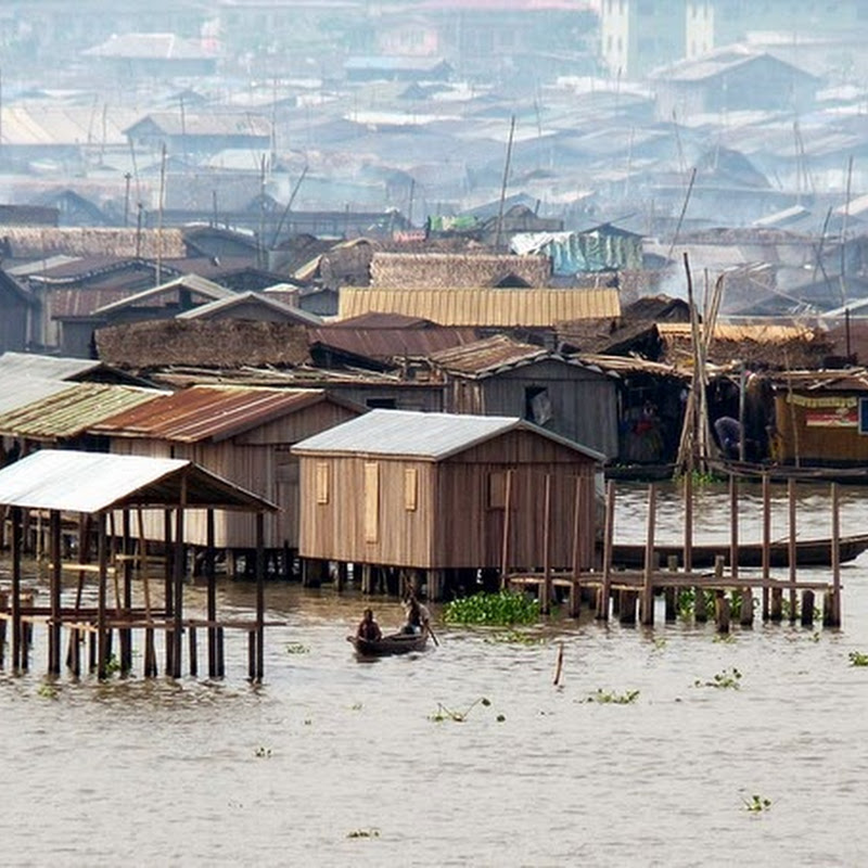 Makoko, a Floating Slum in Nigeria