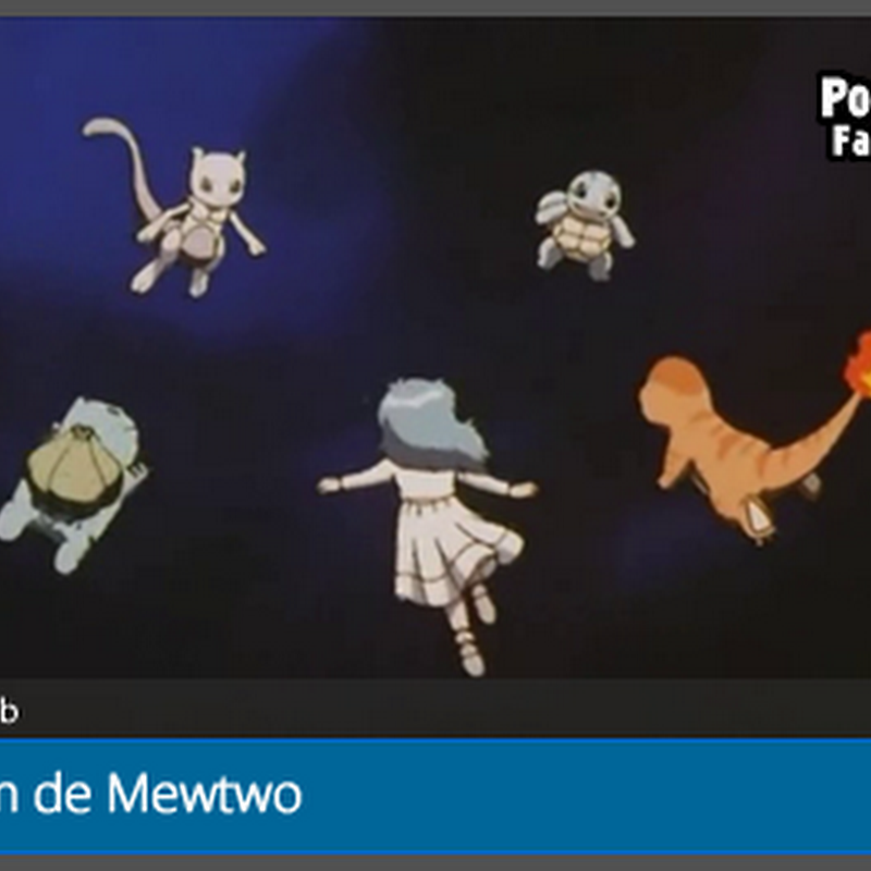 A origem de Mewtwo