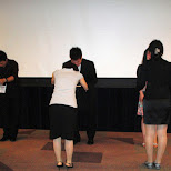 the award ceremony in Yoyogi, Tokyo, Japan