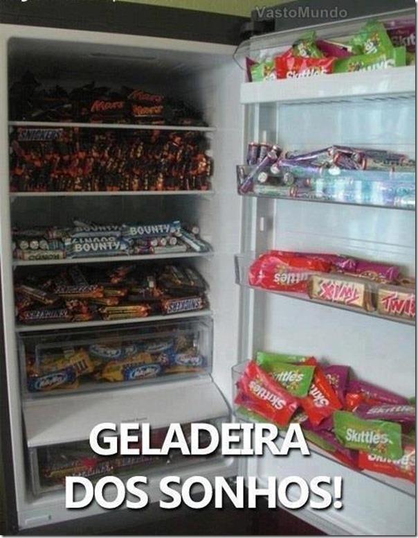 A geladeira dos sonhos