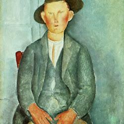 Modigliani, Little Peasant 1918
