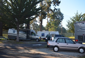 Naval Military Family Camp Monterey Pines very short space 22
