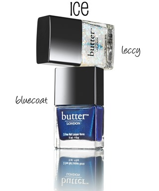 butter LONDON Ice Duo (Holiday 2013) #nails