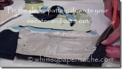 cutting sleeve out