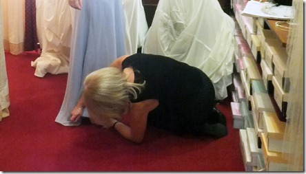 bridesmaid adjustments