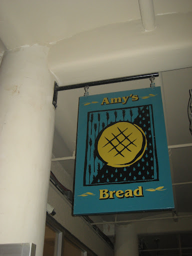 Amy's Bread, a bakery in Chelsea Market, is where I thought I was headed on the day of the proposal.