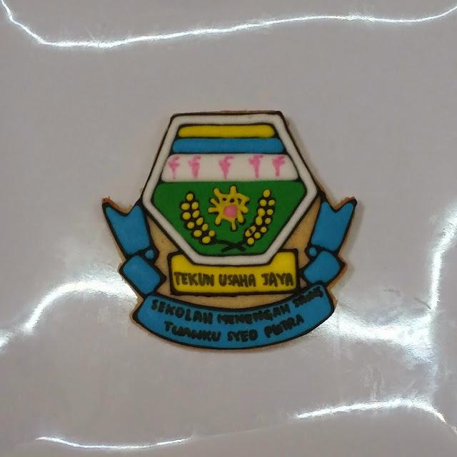 SMSTSP logo or school badge cookies