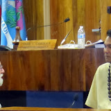 Council members Carroll and Guzman
