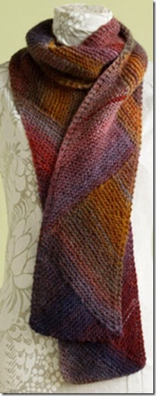 directional colours scarf