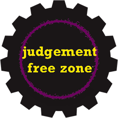 judgement free zone
