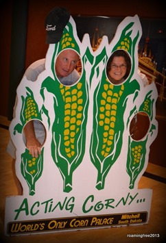 Tom and I acting corny!