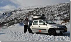 Arctic Roadtrip Erik met Dacia Logan MCV 02