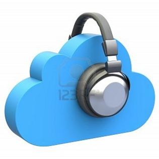 cloud-music-concept