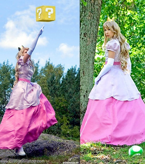 princesa peach cosplay Princess Peach cosplya desbaratianndo (6)