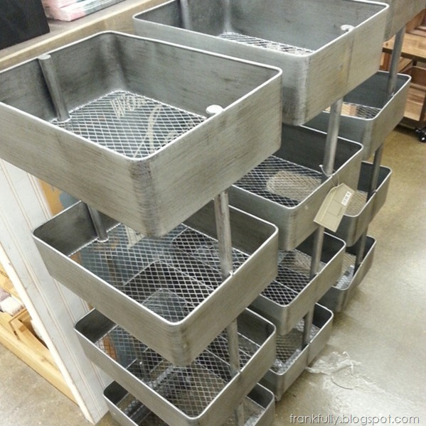 organizational trolleys at World Market
