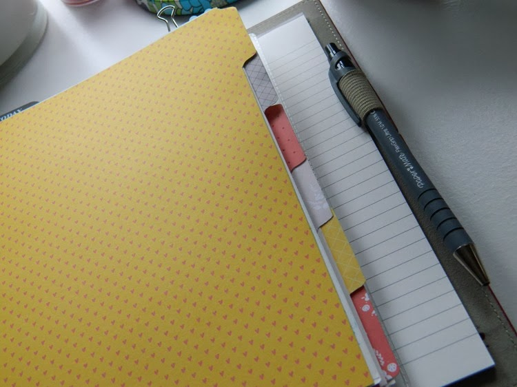 Custom Filofax Dividers