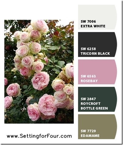 Pink Paint Color Ideas using Sherwin Williams Chip It! from Setting for Four.  Get the skinny here! http://www.settingforfour.com/2013/02/color-palette-pink.html #pink #paint #palette #sherwinwilliams