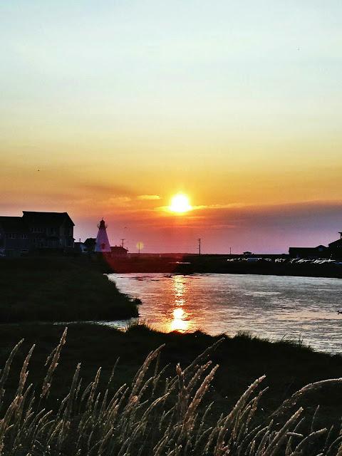 Sunset over Shediac