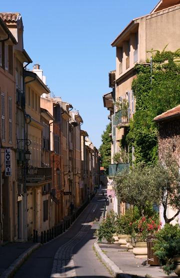 Aix-En-Provence Old Mansions