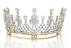 """The Mike Todd Diamond Tiara"" An Antique Diamond Tiara, circa 1880. Gift from Mike Todd, 1957. Estimate: $60,000‐$80,000"