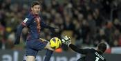 Cuplikan Video Highlights Barcelona vs Athletic Bilbao 5-1
