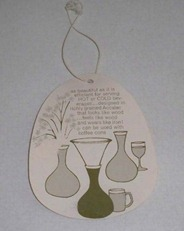 David Douglas Therm Ware carafe Genie Server tag