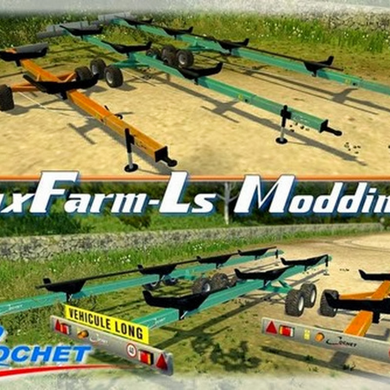Farming simulator 2013 - Pack cutter trailer Cochet v 1.0