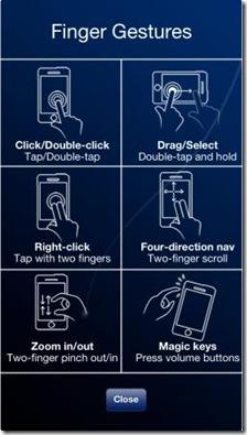 SmartMouse gesti touch