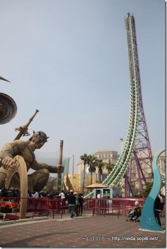高雄義大遊樂世界-極限挑戰2