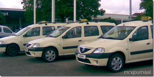 Dacia als Taxi 12