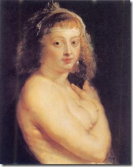 rubens - Helene Fourment in the fur