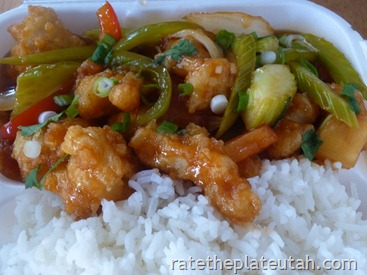 Thai Evergreen Crispy Sweet Sour Chicken