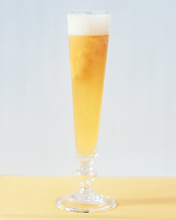 Semifreddo Bellini: This slushy cocktail has lots of fresh peach flavor.
