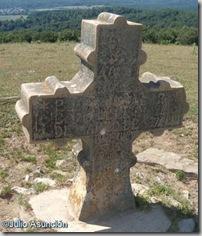 Cruz en el alto de Irupagoeta - Garralda
