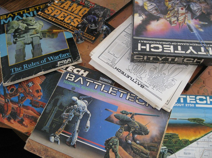 tabletop battletech