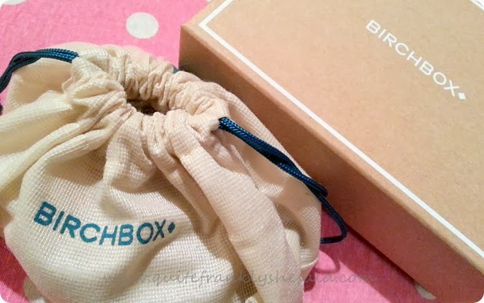 Birchbox November 2013 beauty box